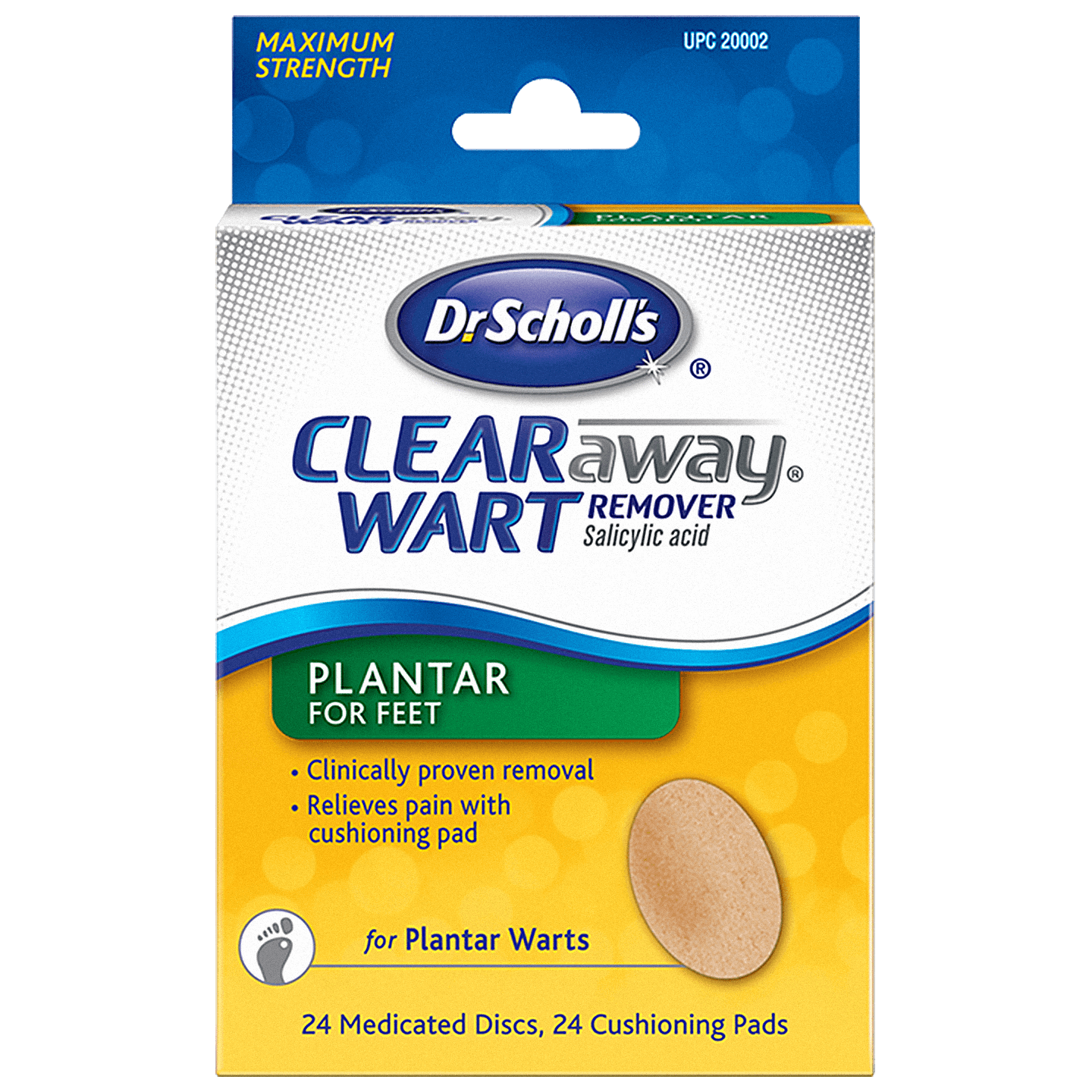 Dr Scholl's Clear Wart Remover Salicylic Acid front