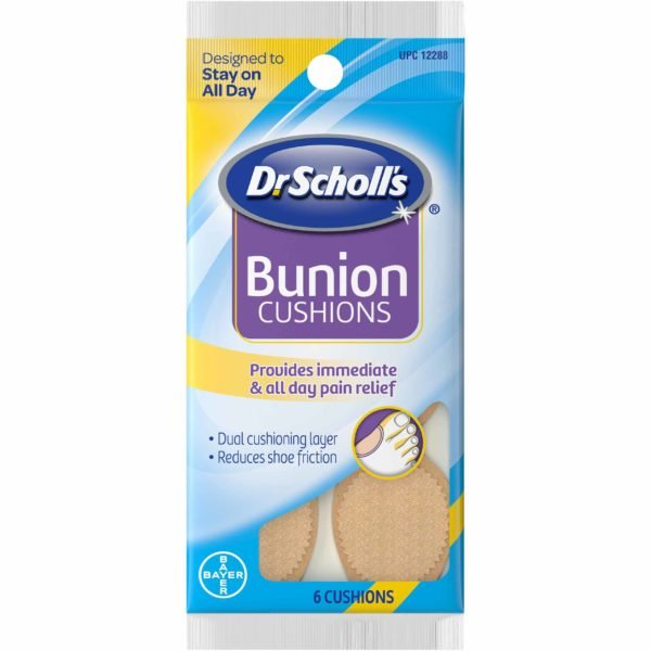 Image of Dr. Scholl's Bunion Cushions  Front in package