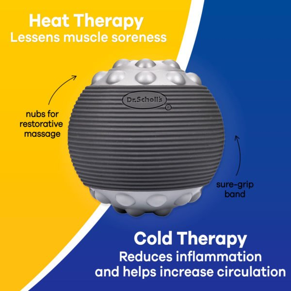 image of hot and cold massage ball benefits