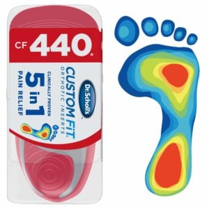 image of custom fit orthotics 440