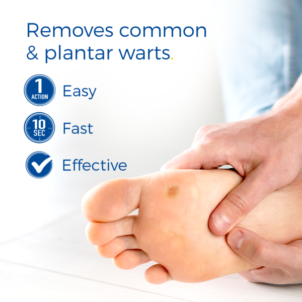 image of freeze away wart remover max removes common and plantar warts