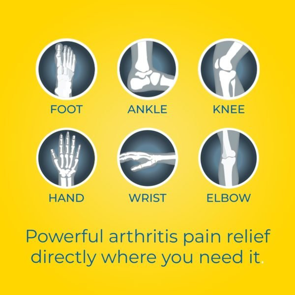powerful arthritis pain relief directly where you need it