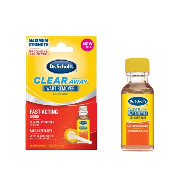 image of clear away wart remover fast acting liquid