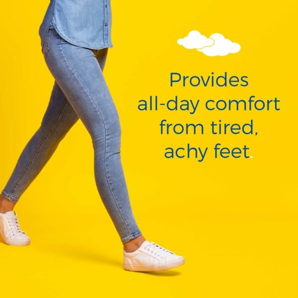 provides all-day comfort from tired achy feet