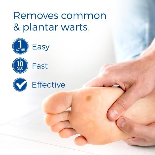 image of freeze away max wart remover removes common and plantar warts
