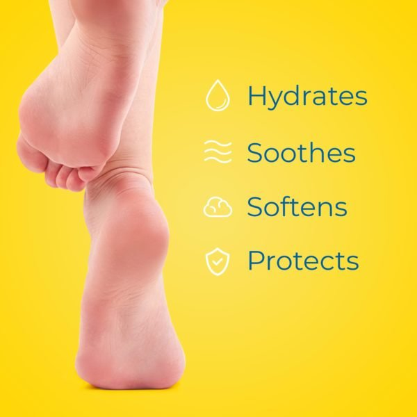 dr. scholl's skin care line hydrates, soothes, softens, protects