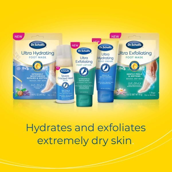 image of dr scholl's skin care line