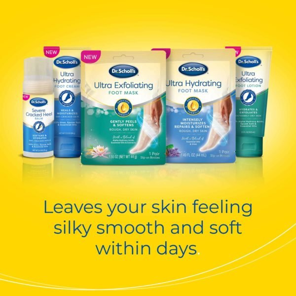 leaves your skin feeling silky smooth and soft within days