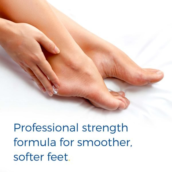 ultra hydrating foot cream has professional strength formula for smoother, softer feet