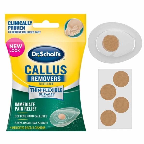 image of callus remover 4 count