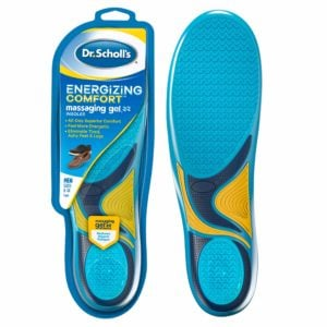 image of dr. scholl's energizing comfort insoles for men's packaging