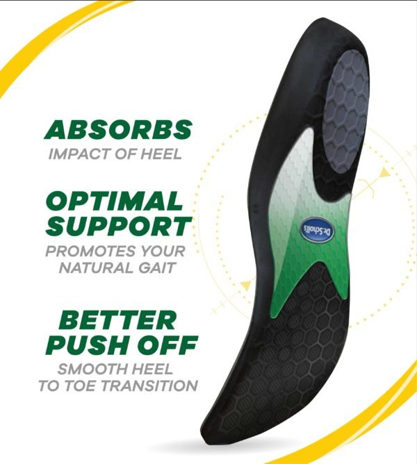Side image of Dr. Scholl's Performance Running Insole