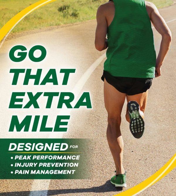 Image of person jogging while wearing Dr. Scholl's Performance Running Insoles