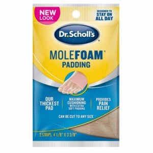 image of molefoam padding front packaging