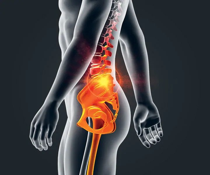 Image of a person with Pain Relief, Lower  Back Pain