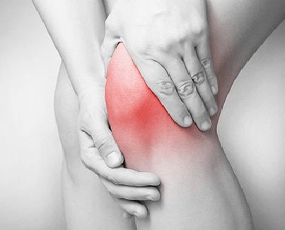 Image of a person with Knee Pain