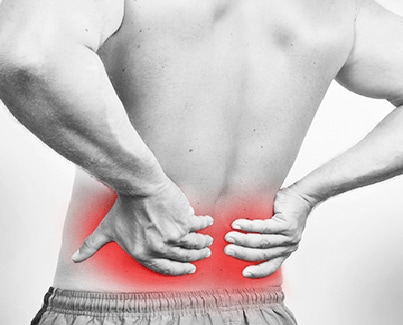 Image of a person with Lower Back Pain