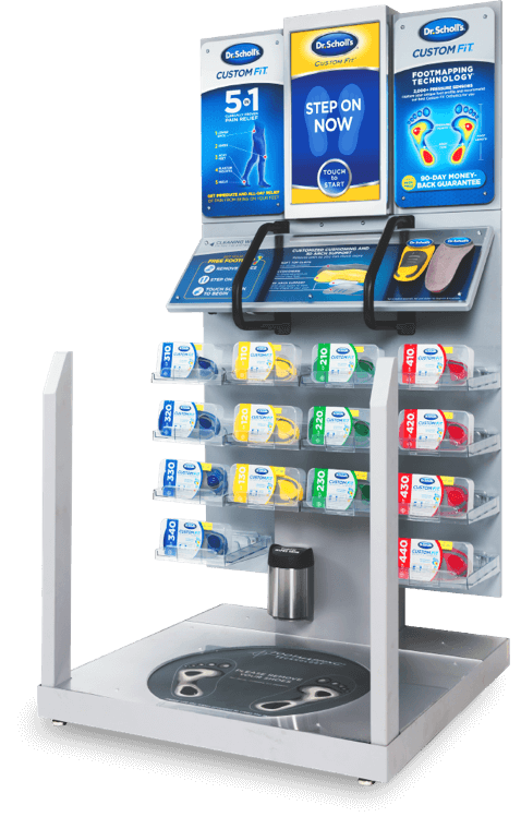 Custom Orthotics Kiosk