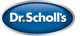 Dr. Scholl's inserts, custom orthotics, and foot care products.