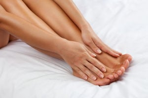 image of smooth legs